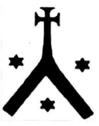 Những ngôi sao mạ vàng xuất hiện trên biểu tượng chữ cái Hy Lạp Lambda