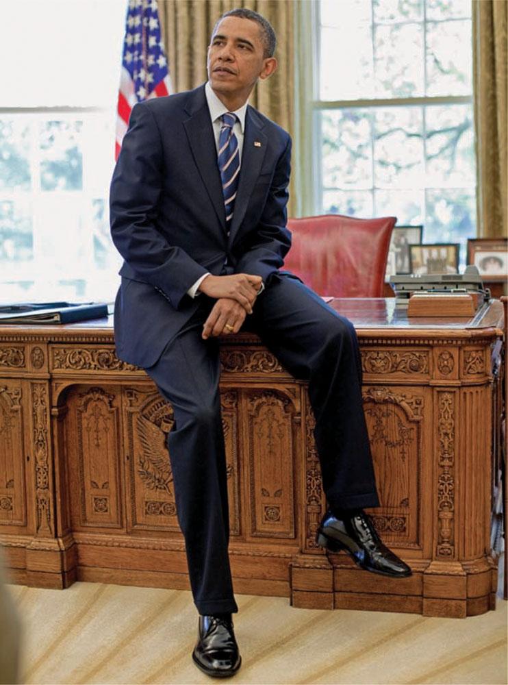 Khí chất đàn ông thế kỷ 21: Chân dung chính thức của Barack Obama.
