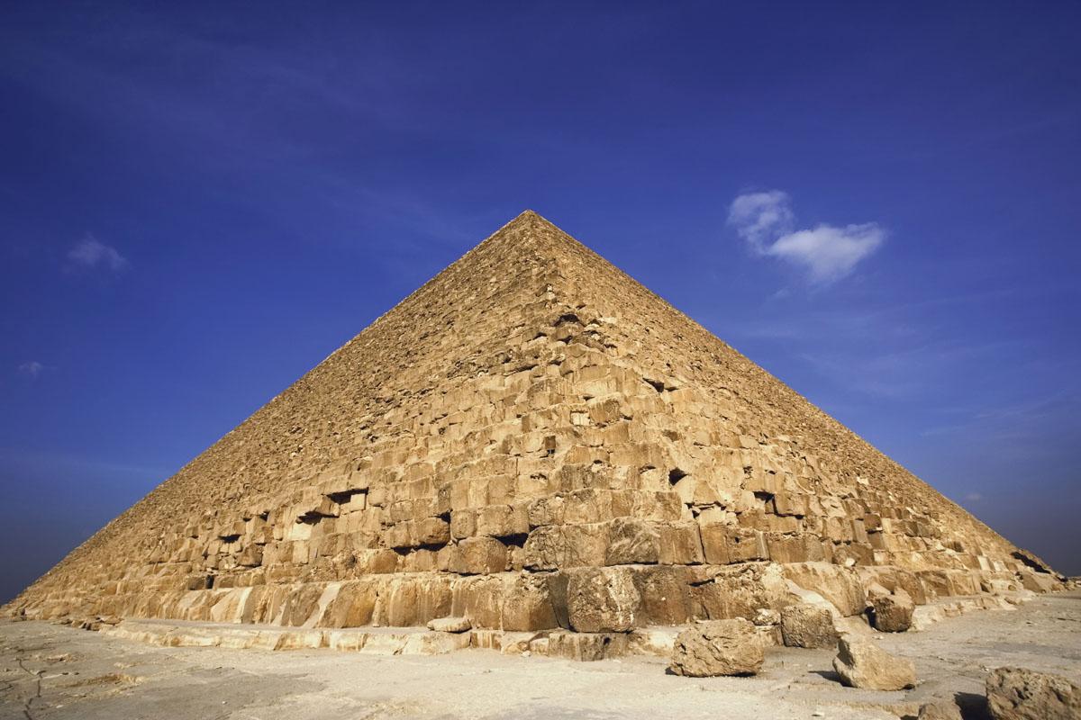 Kim tự tháp vĩ đại ở Giza