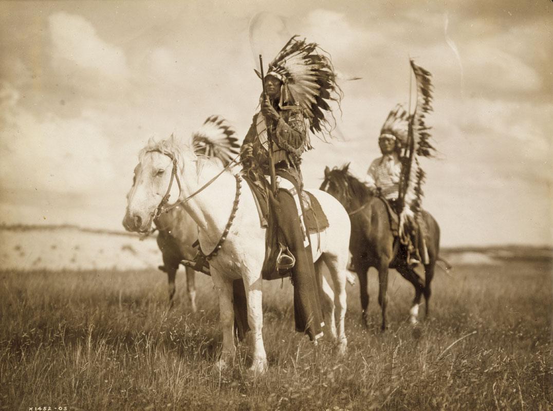 Những tù trưởng Sioux (năm 1905).