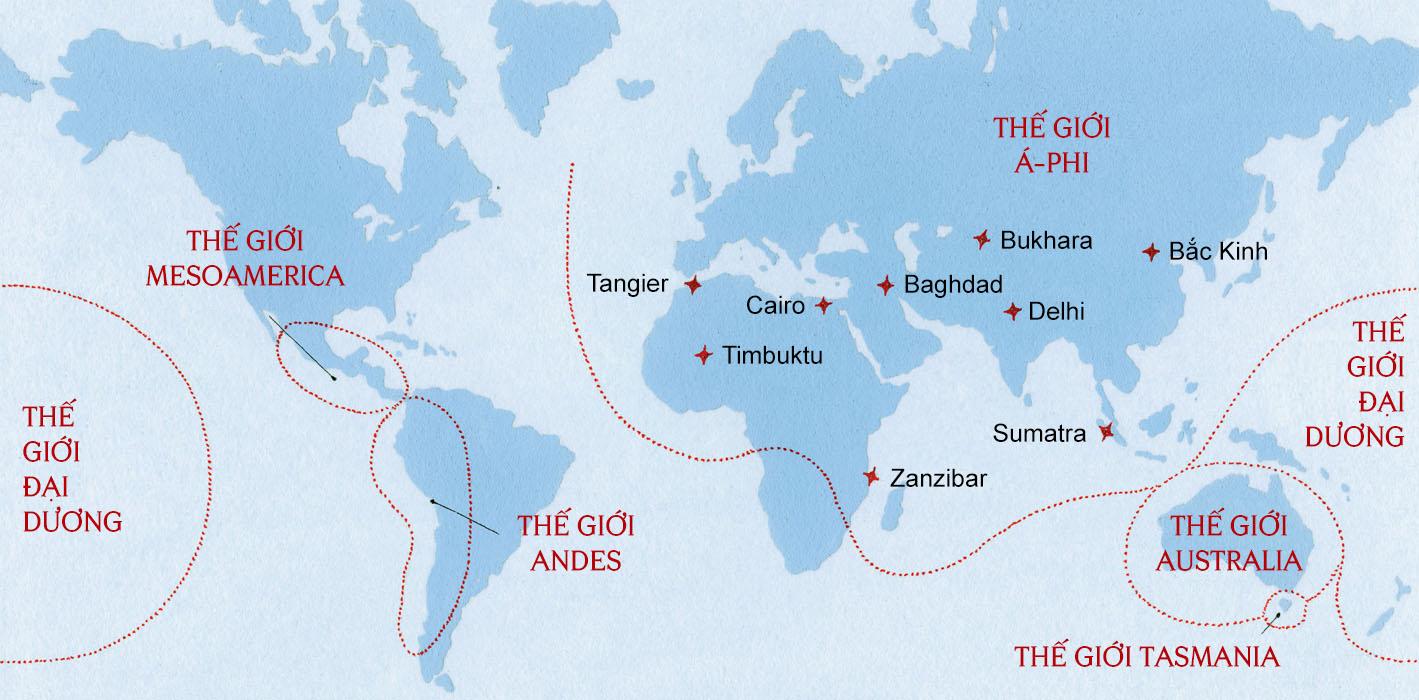 Bản đồ trái đất năm 1450