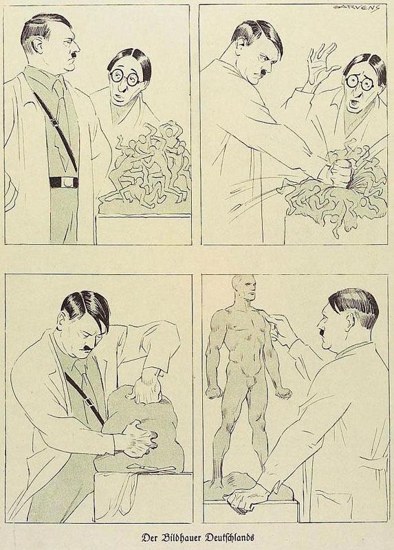 Tranh vẽ của Đức quốc xã năm 1933